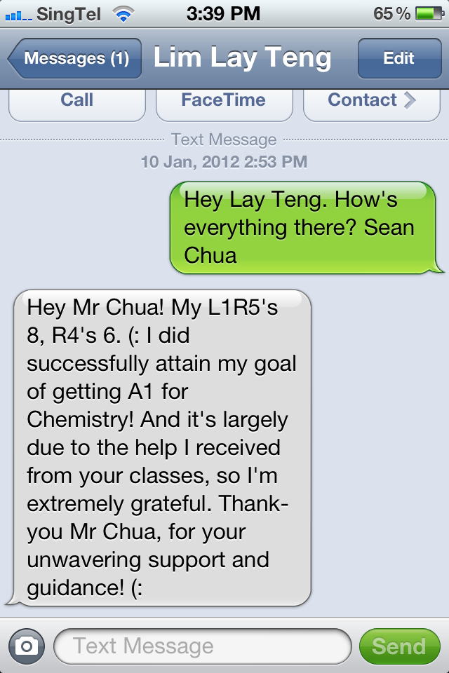 Lim Lay Teng Testimonial