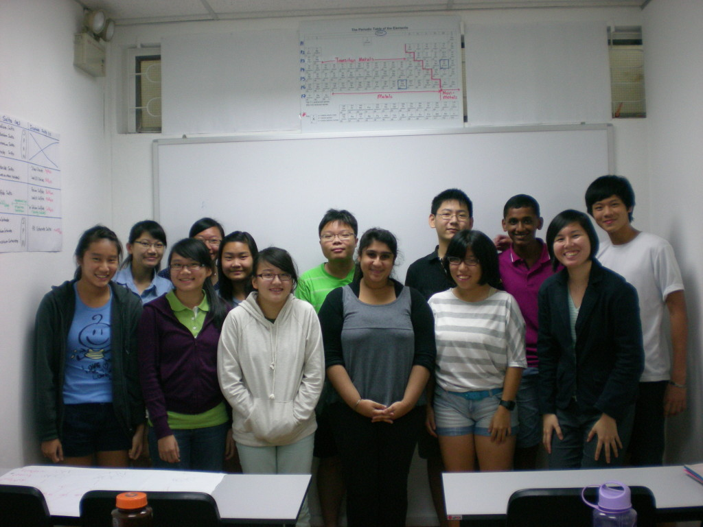 O-Level Maths Intensive Group Photo 1
