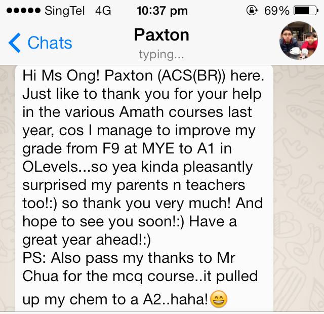 Paxton ACSBR Testimonial
